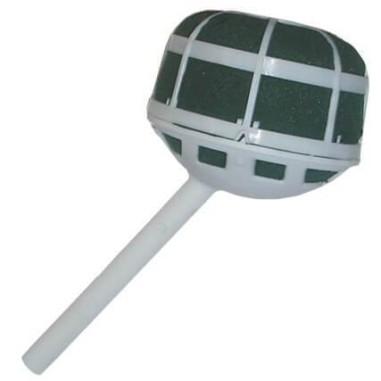 PORTE BOUQUET PLAT INCLINÉ, (8,5 cm, 6 unités)