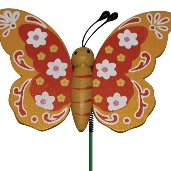 Pique mod le papillon en bois 12 unit s - Modele papillon ...