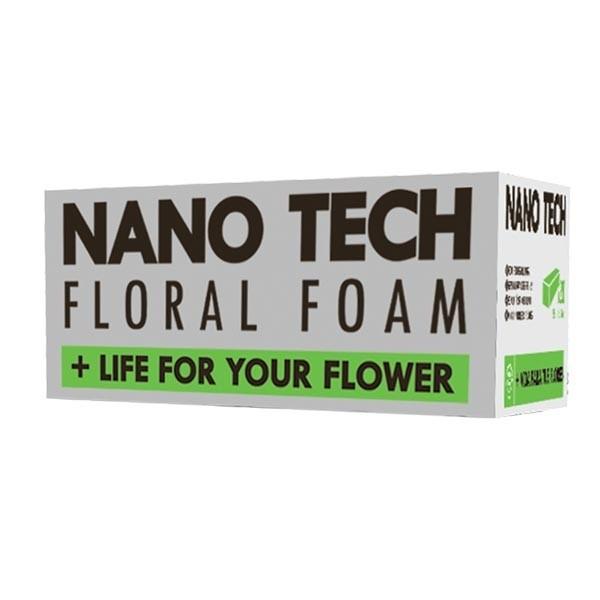 mousse nano tech pour fleurs naturelles 20 unit s. Black Bedroom Furniture Sets. Home Design Ideas