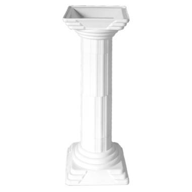 COLONNE EN PLASTIQUE, (25 cm diam. x 106 cm ht ), Ref. 5403