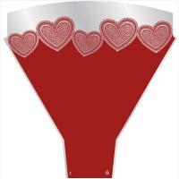 """HOUSSES POUR BOUQUET """"LOVE HEARTS"""" (50 unités)"""