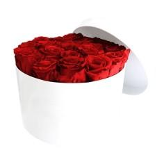 Boîtes de Roses Éternelles Ronde