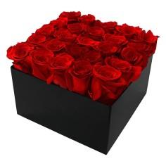 Boîtes de Roses Éternelles Carré