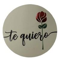 Étiquettes Rose Te Quiero