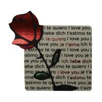 Étiquettes de texte roses