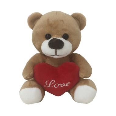 Peluche Oso con Corazón Love